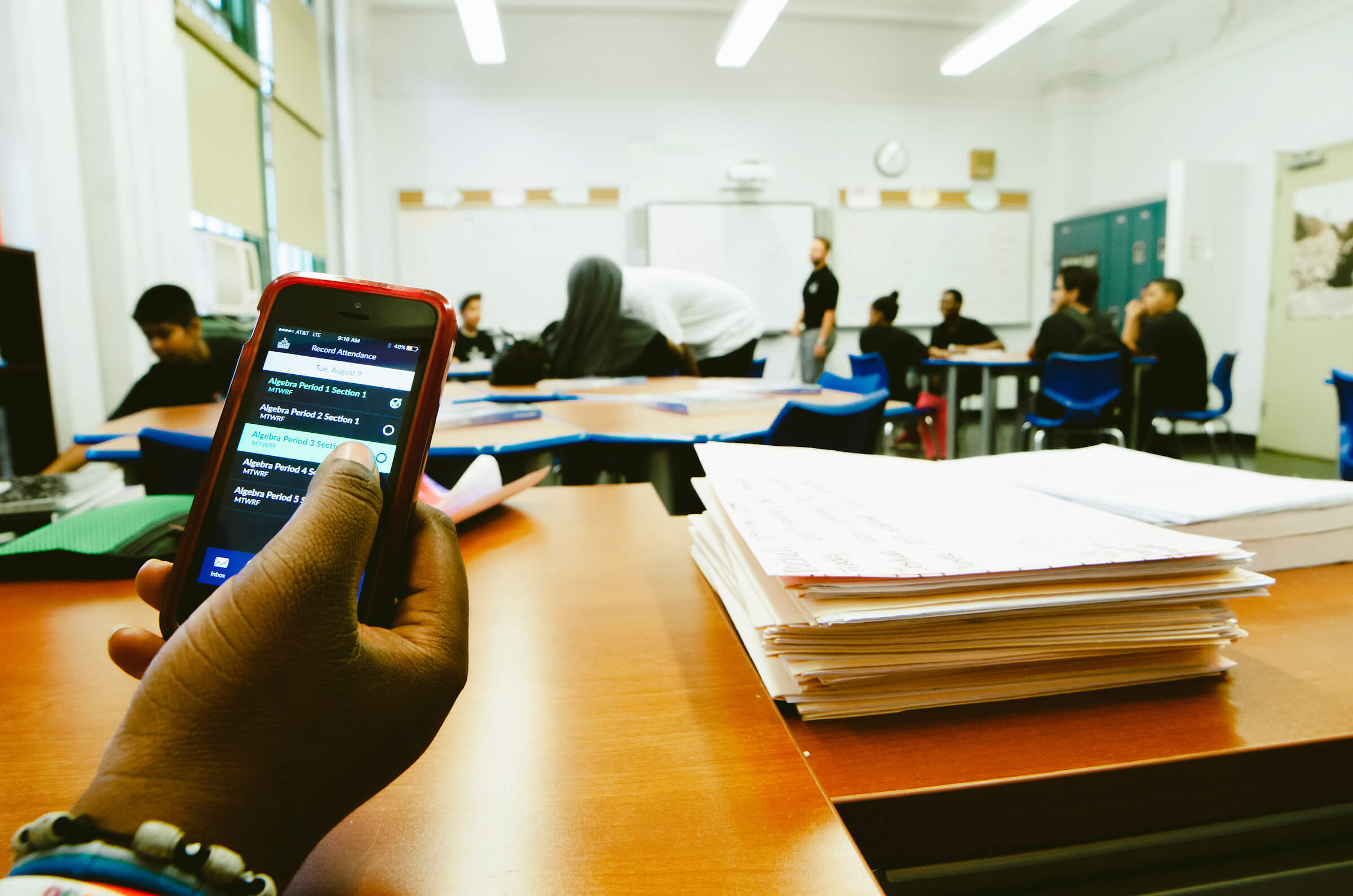 Engagement for educators on the go